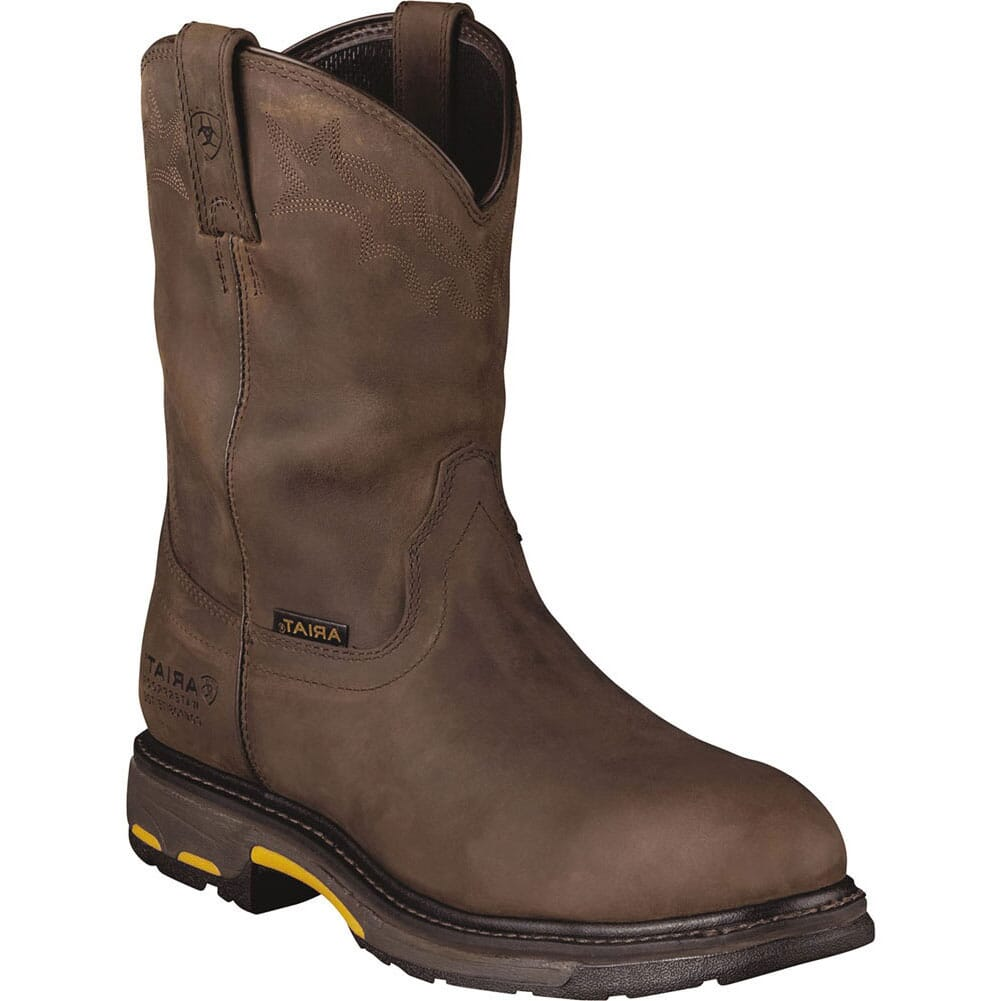 Image for Ariat Men's Workhog H2O Safety Boots - Brown from bootbay