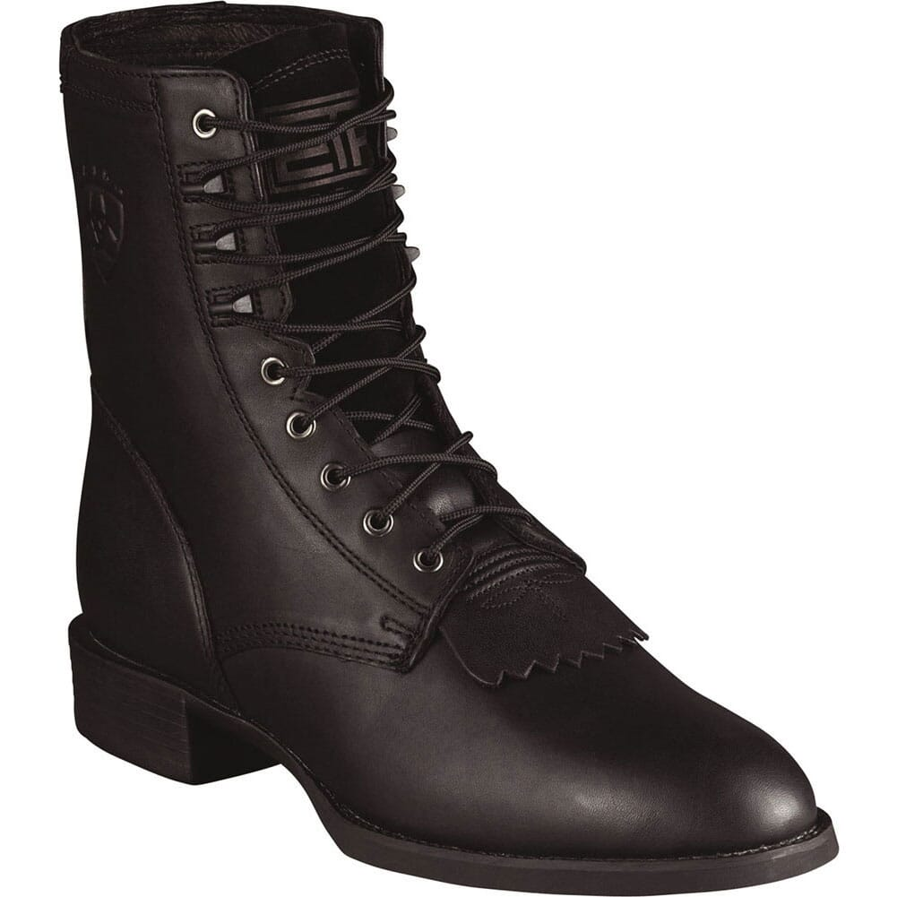 Image for Ariat Men's Heritage Western Lacers - Black from bootbay