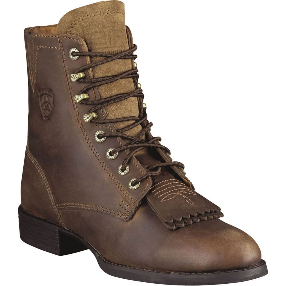 Image for Ariat Women's Heritage Western Lacer II - Distressed Brown from elliottsboots