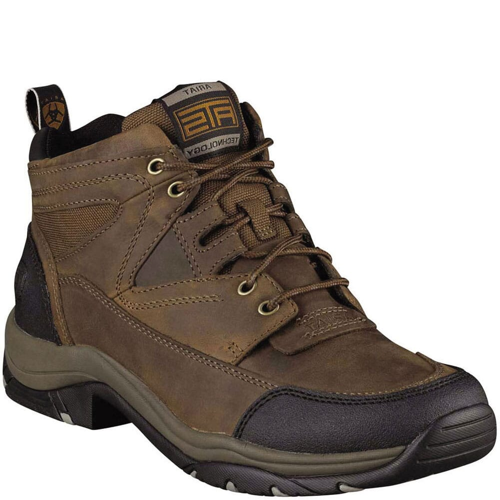 Image for Ariat Men's Terrain Casual Lacers - Distressed Brown from bootbay