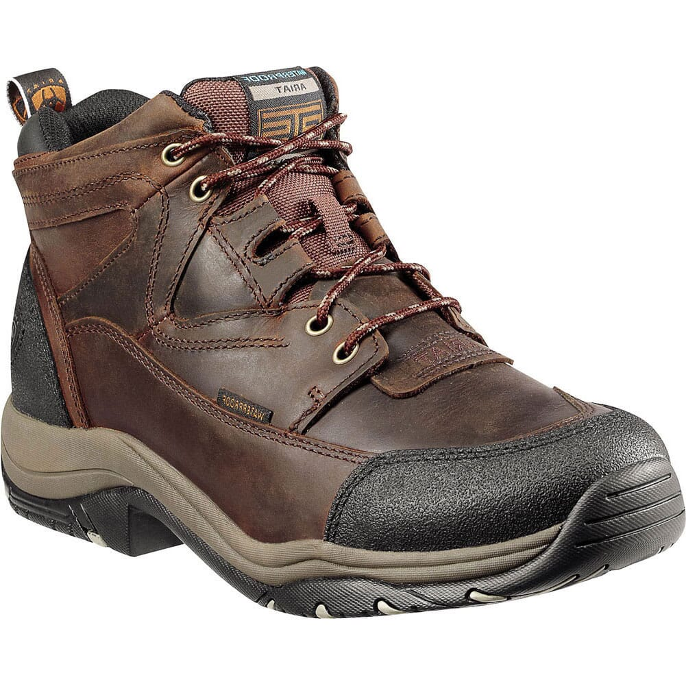 Image for Ariat Men's Terrain H2O Hiking Boots - Copper from bootbay