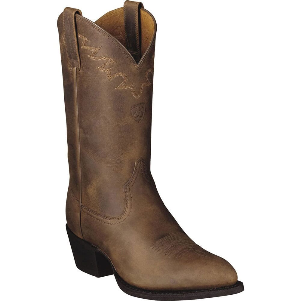 Image for Ariat Men's Sedona Western Boots - Distressed Brown from bootbay
