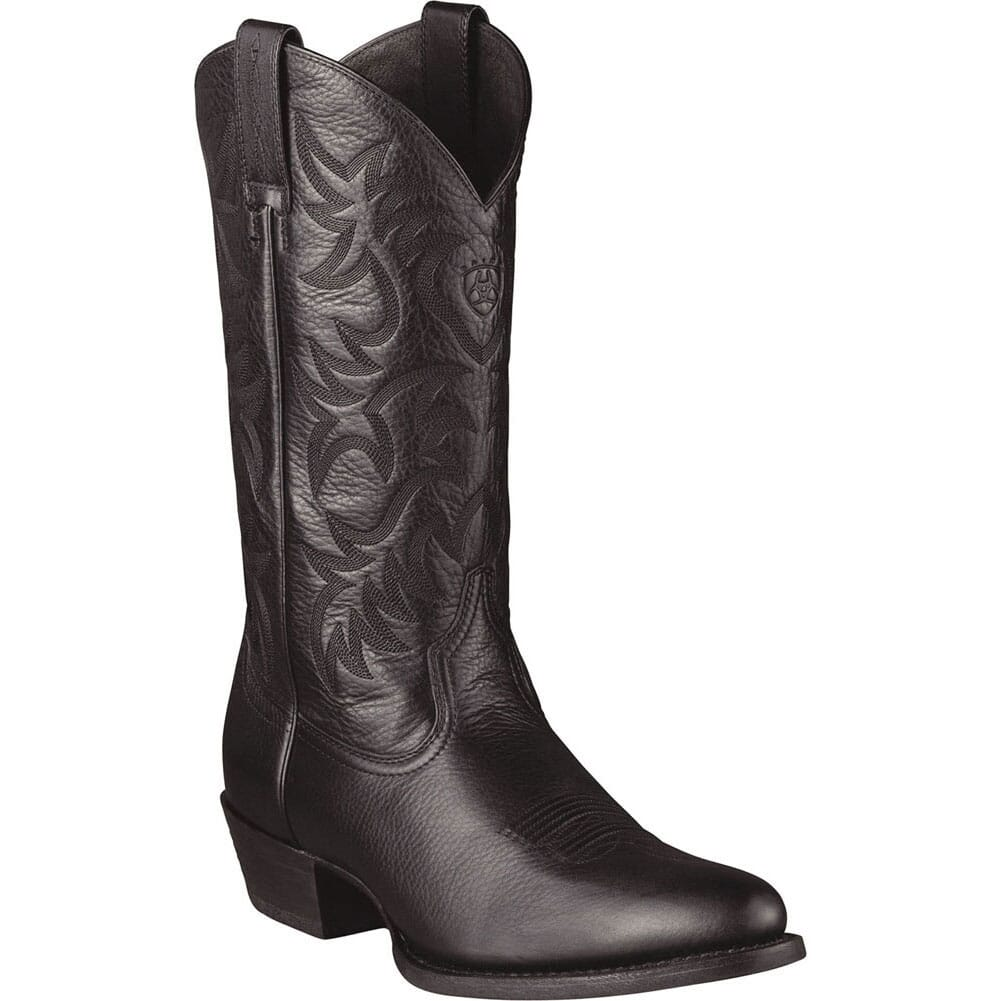 Image for Ariat Men's Heritage Western Boots - Black from bootbay