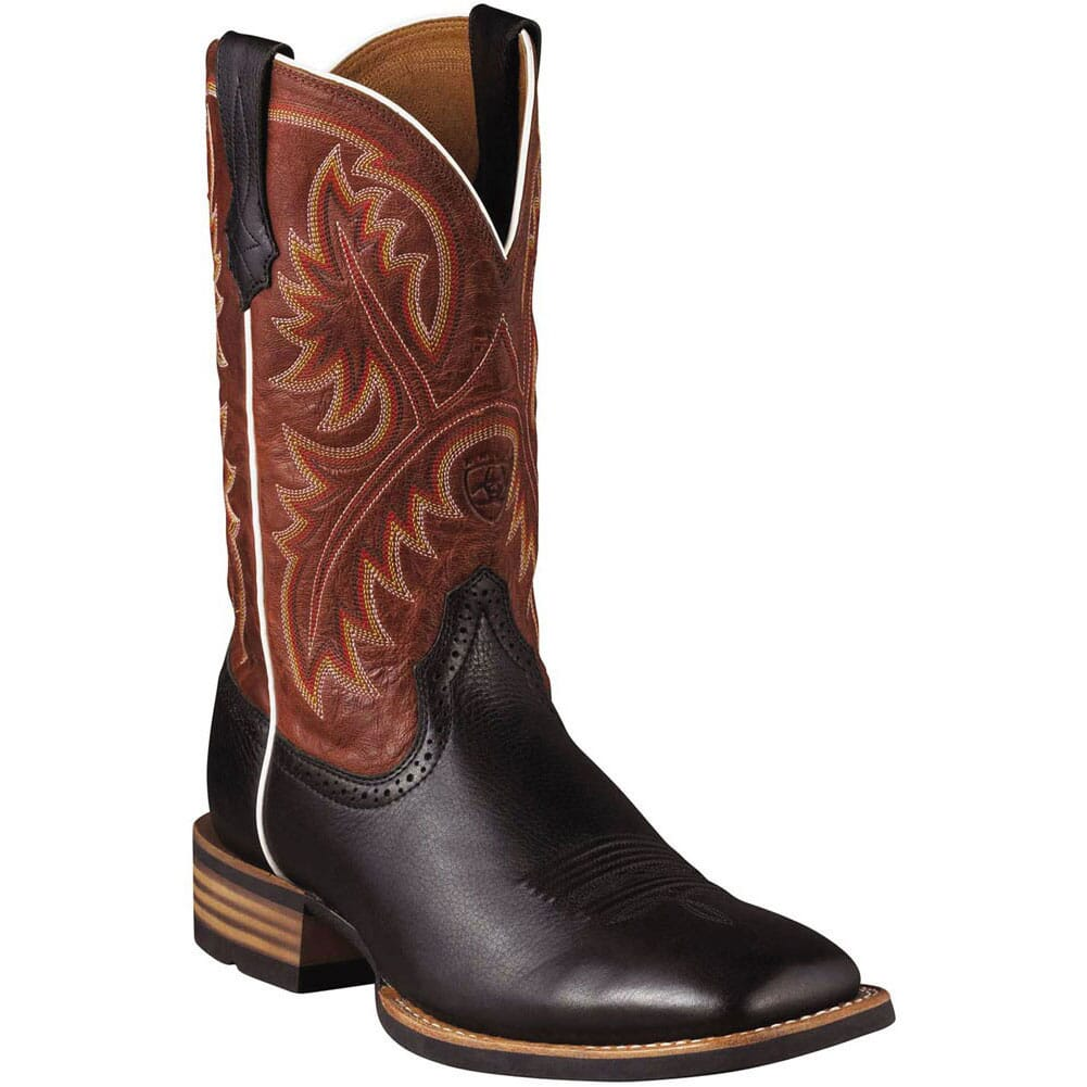 Image for Ariat Men's Quickdraw Western Boots - Black from bootbay