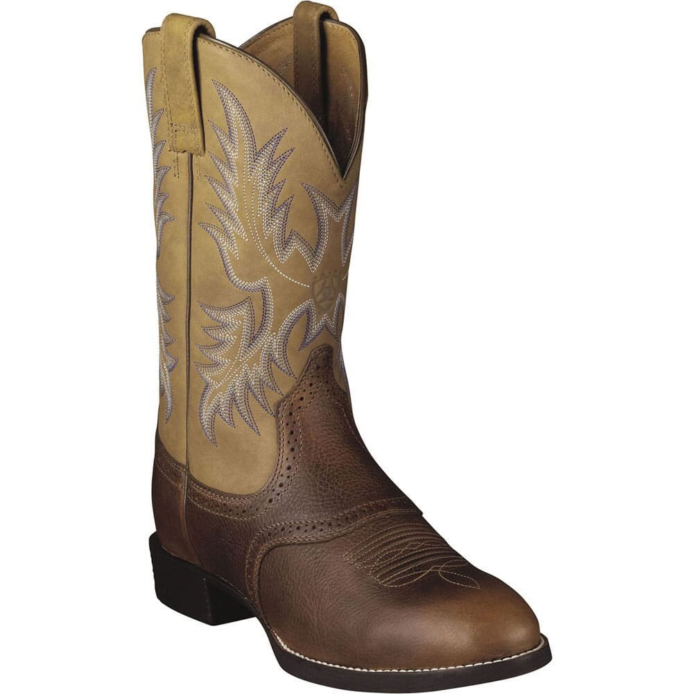 Image for Ariat Men's Heritage Stockman Western Boots - Brown from bootbay