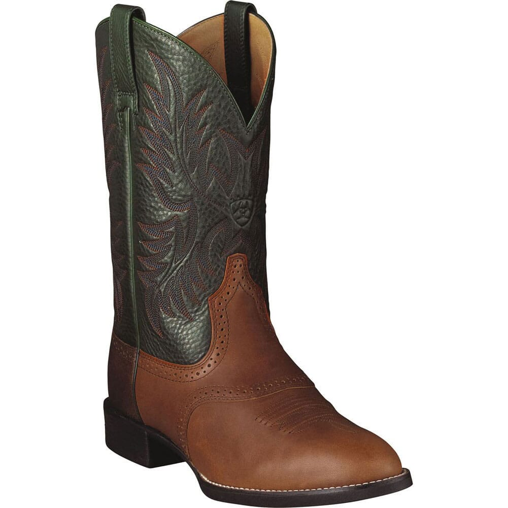 Image for Ariat Men's Heritage Stockman Western Boots - Cedar from bootbay