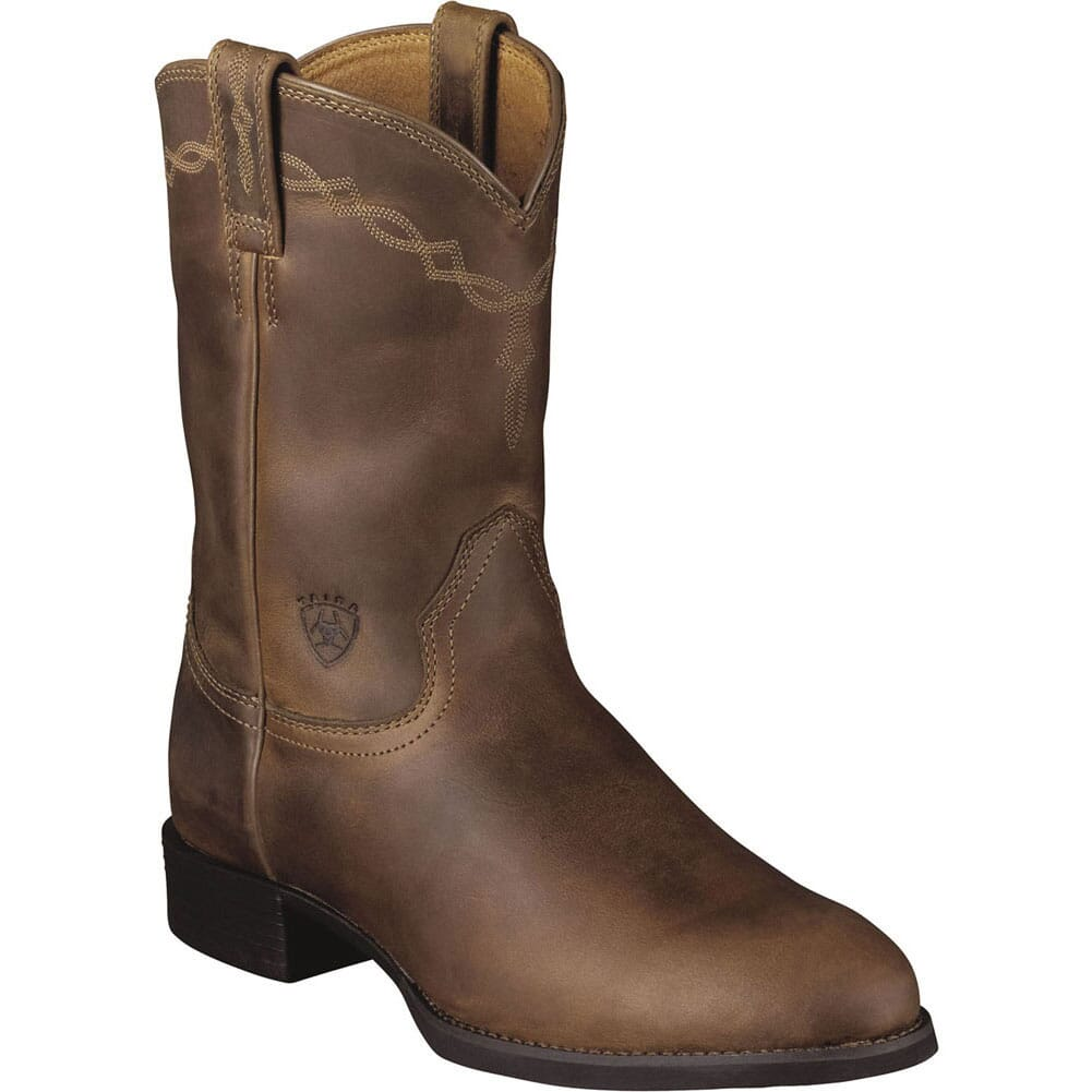 Image for Ariat Men's Duratread Western Ropers - Distressed Brown from bootbay