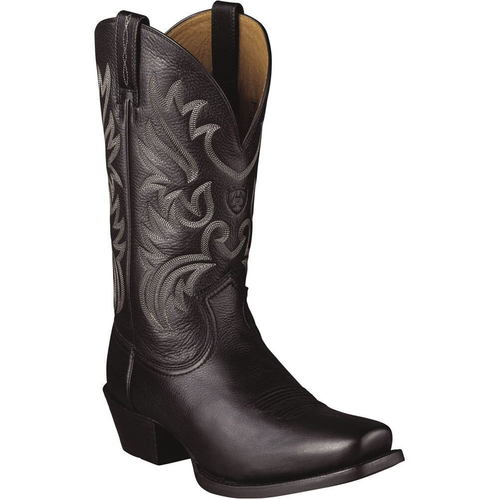 Image for Ariat Men's Legend Western Boots - Black from bootbay