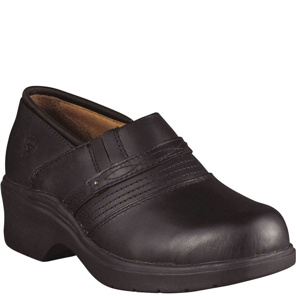 Image for Ariat Women's Clog Safety Shoes - Black from bootbay