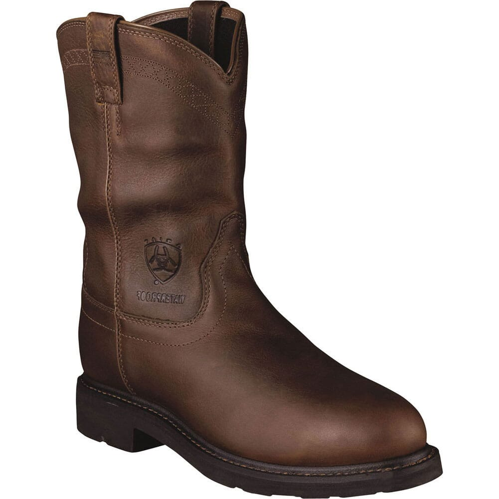 Image for Ariat Men's Sierra H2O Safety Boots - Brown from bootbay