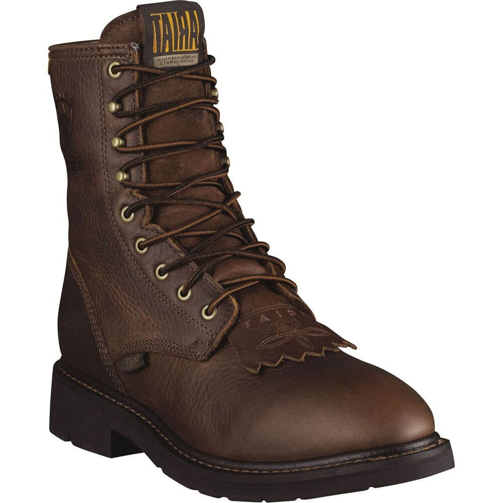 Image for Ariat Men's Cascade Work Lacers - Brown from bootbay