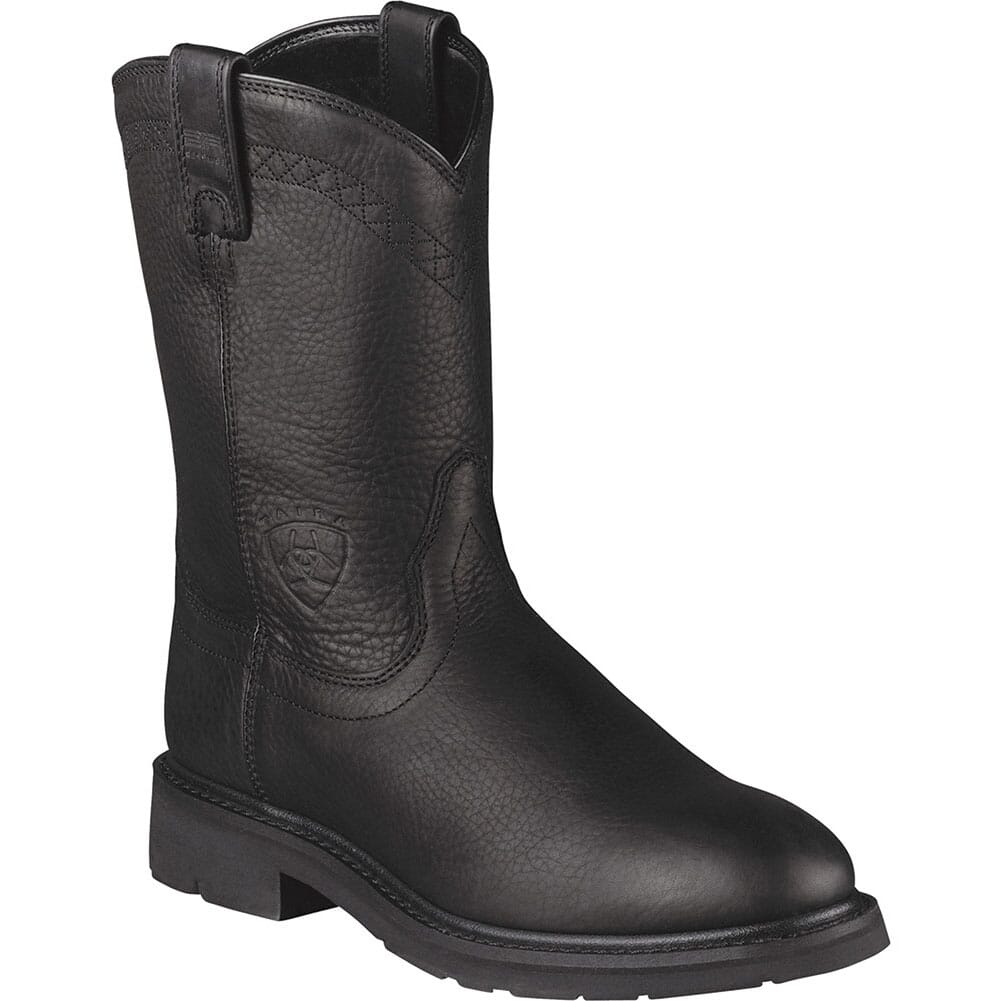 Image for Ariat Men's Sierra Work Boots - Black from bootbay