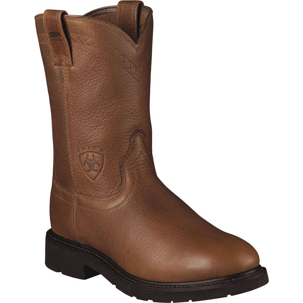 Image for Ariat Men's Sierra Work Ropers - Brown from bootbay