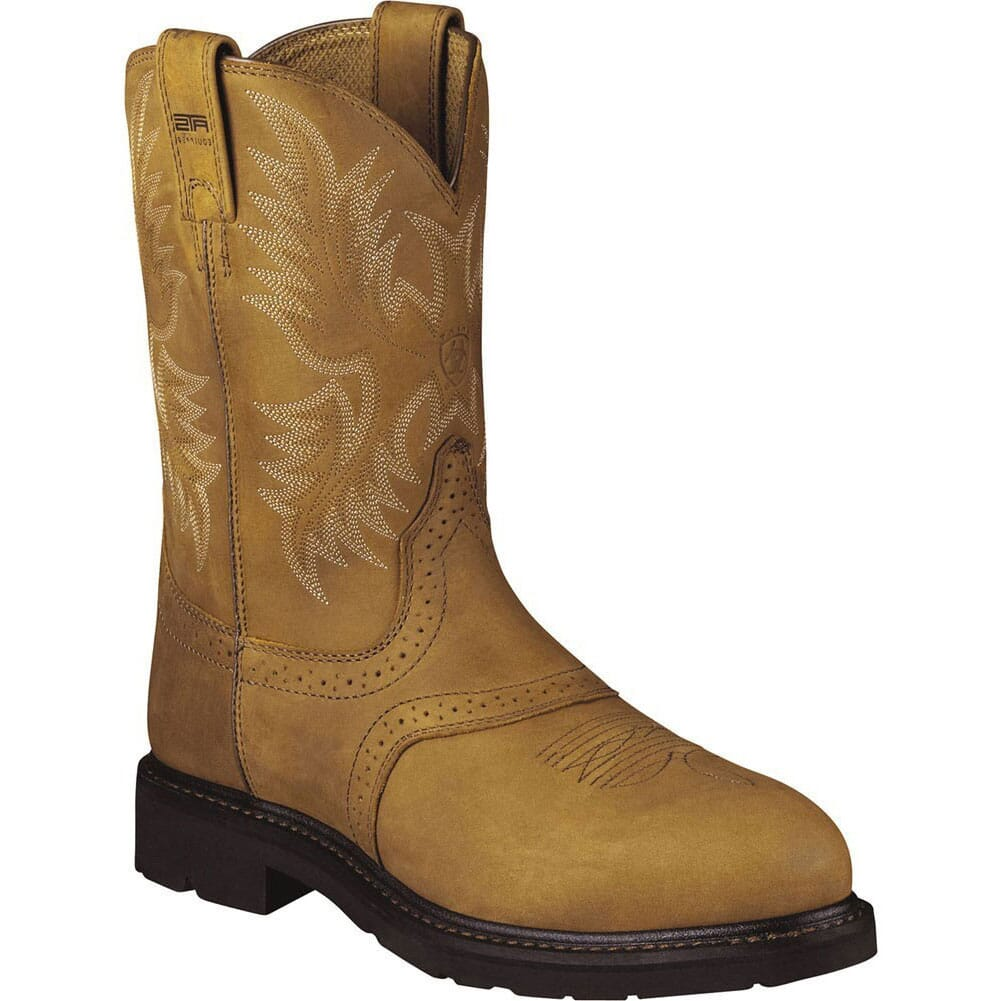 Image for Ariat Men's Sierra Saddle Safety Boots - Aged Bark from bootbay
