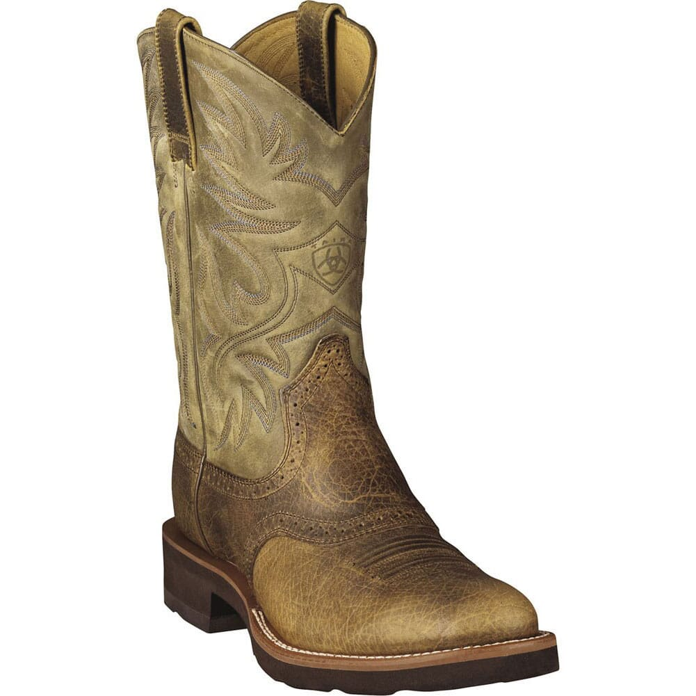 Image for Ariat Heritage W-Toe Western Boots - Earth from bootbay