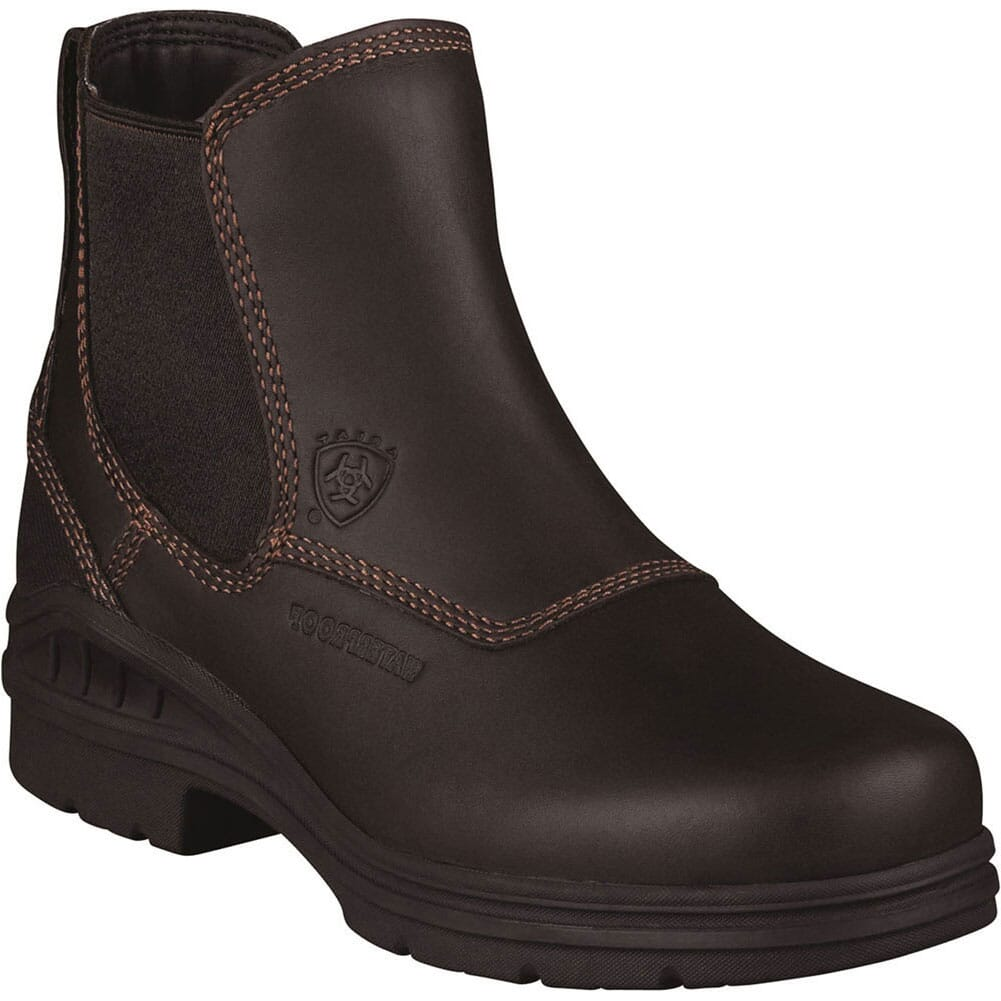 Image for Ariat Women's Barnyard H2O Equestrian Boots - Dark Brown from elliottsboots