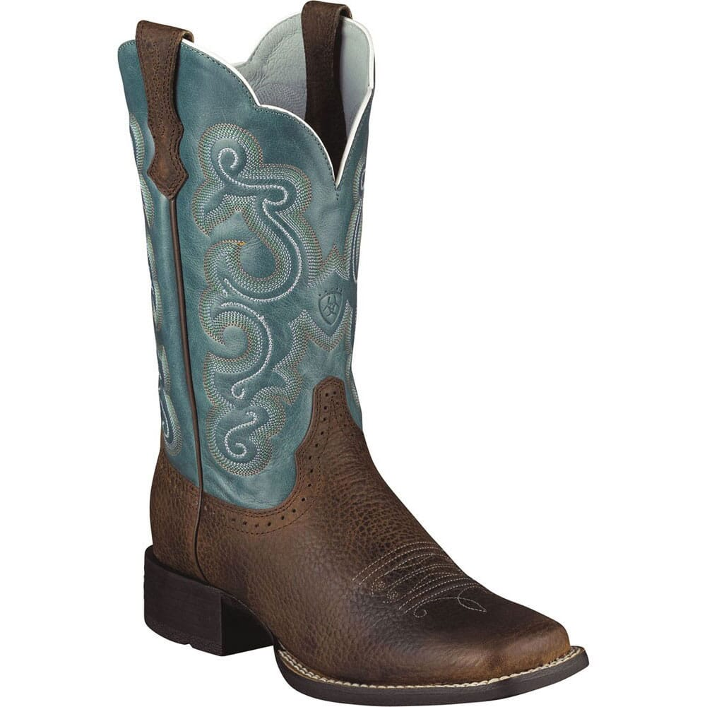 Image for Ariat Women's Quickdraw BR Western Boots - Brown from elliottsboots