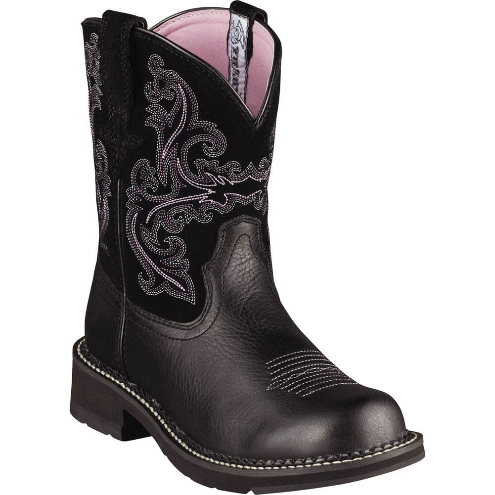 Image for Ariat Women's Fatbaby II Western Boots - Black from bootbay
