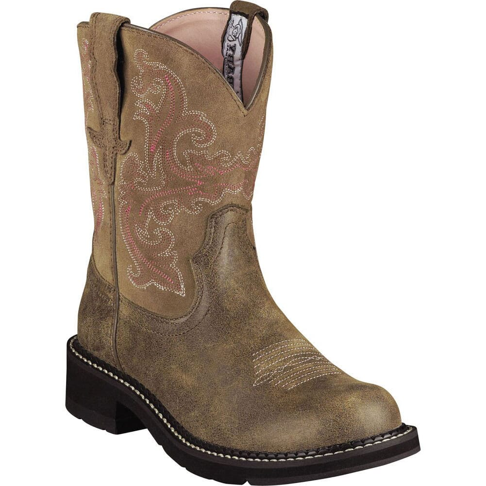 Image for Ariat Women's Fatbaby II Western Boots - Brown Bomber from elliottsboots