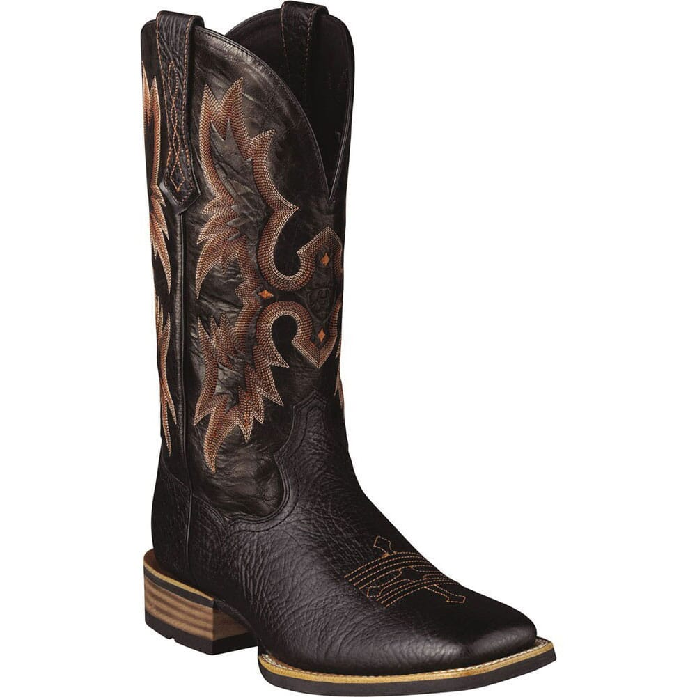 Image for Ariat Men's Tombstone Western Boots - Black from bootbay