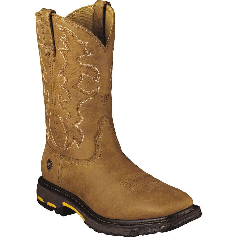 Image for Ariat Men's Workhog Work Boots - Bark from bootbay