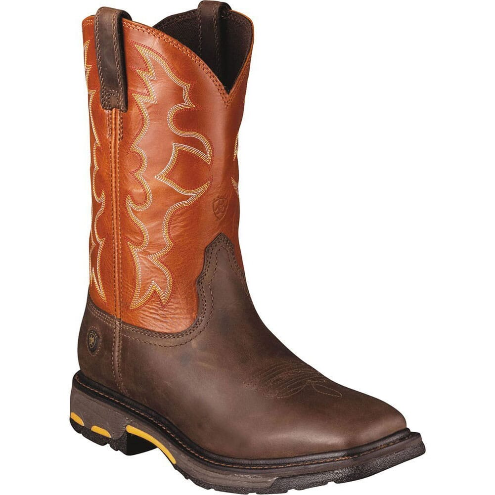 Image for Ariat Men's Work 11IN Workhog Boots - Dark Earth from bootbay