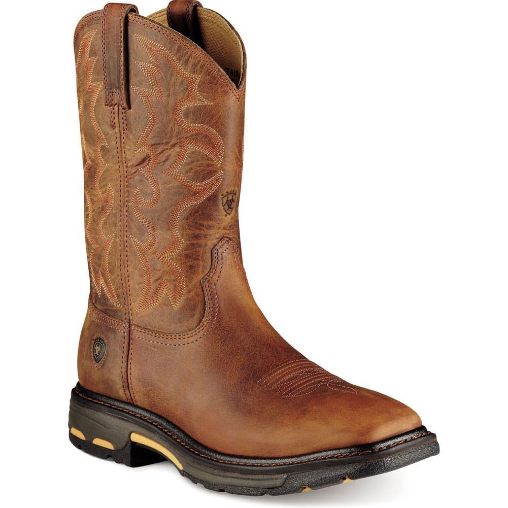 Image for Ariat Men's Workhog Safety Boots - Toast from bootbay