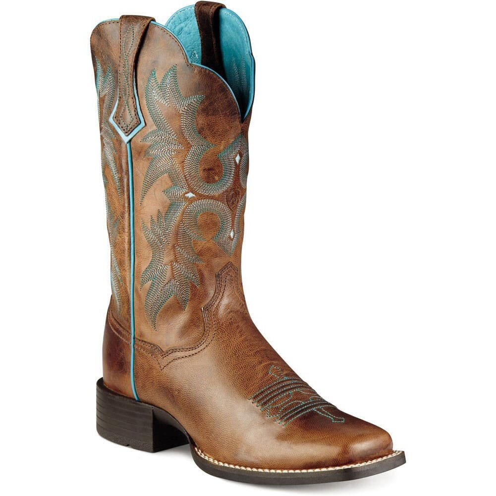Image for Ariat Women's Tombstone Western Boots - Sassy Brown from elliottsboots