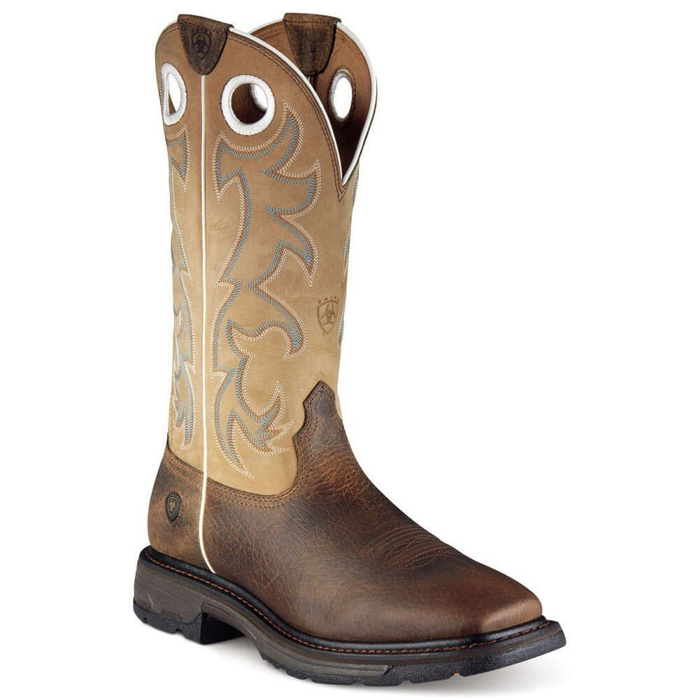 Image for Ariat Men's Workhog ST Safety Boots - Earth from bootbay