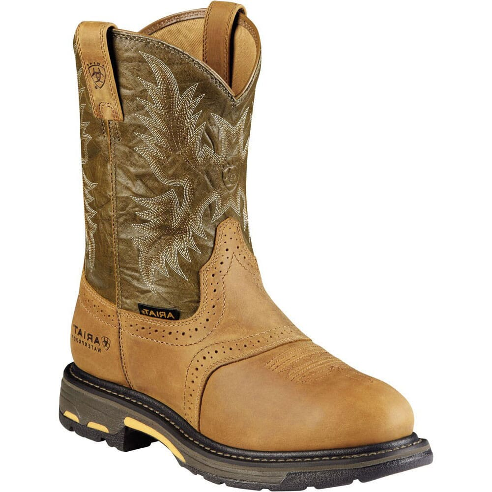 Image for Ariat Men's Workhog H2O Safety Boots - Bark from bootbay