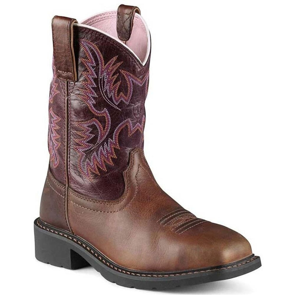 Image for Ariat Women's Krista Safety Boots - Dark Tan/Fig from bootbay