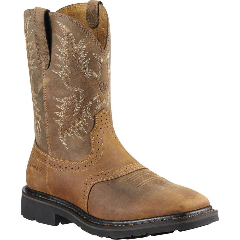 Image for Ariat Men's Sierra Work Boots - Aged Bark from bootbay