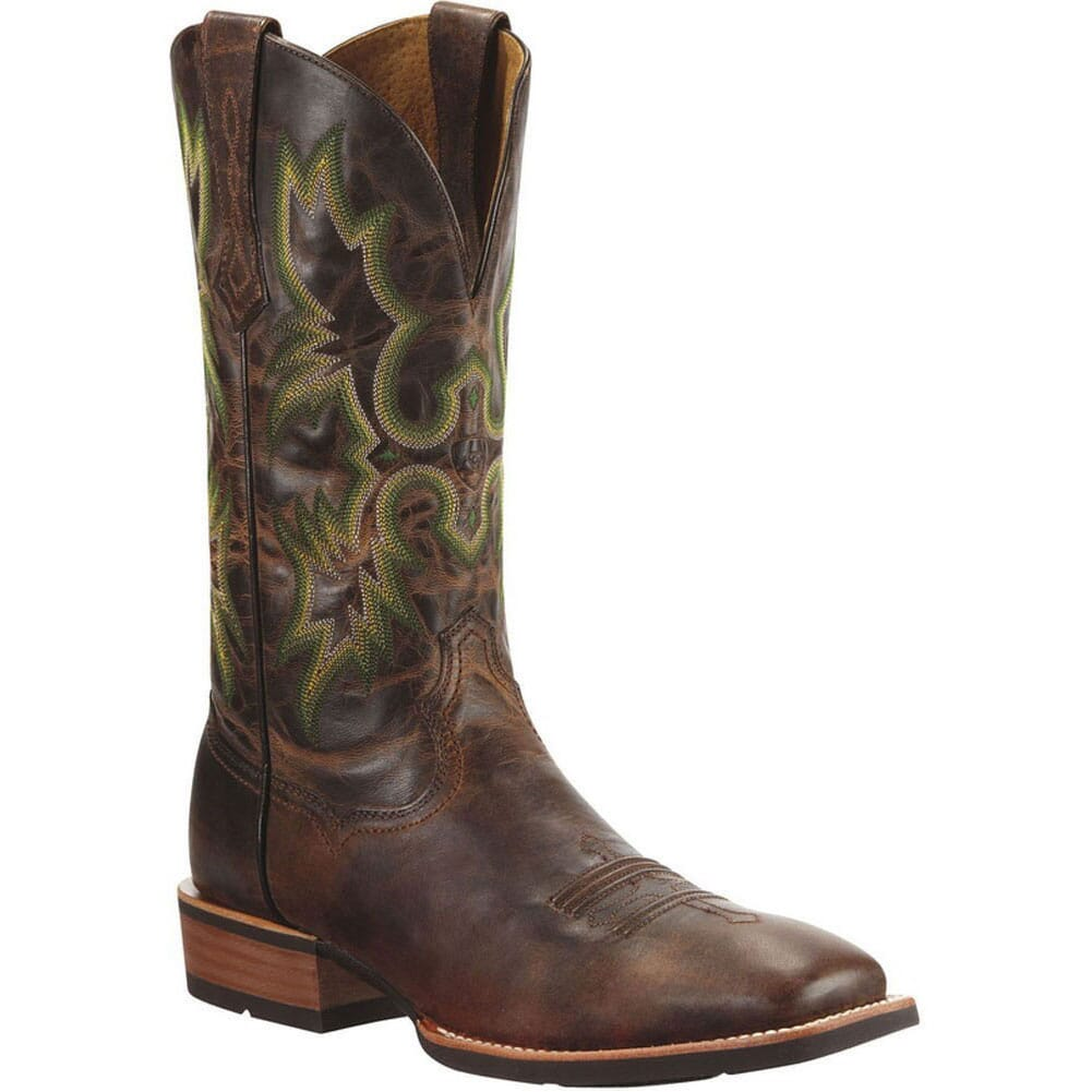 Image for Ariat Men's Tombstone Western Boots - Chestnut from bootbay