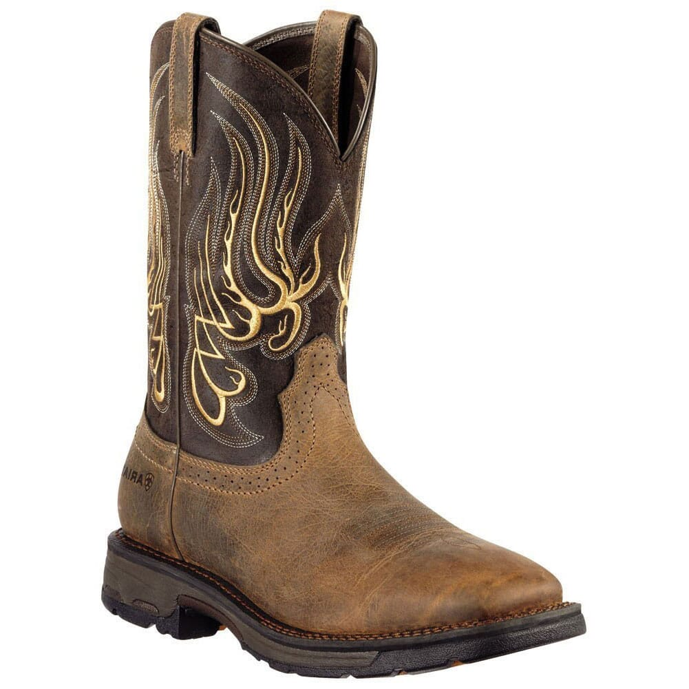 Image for Ariat Men's Workhog Mesteno Work Boots - Earth from bootbay
