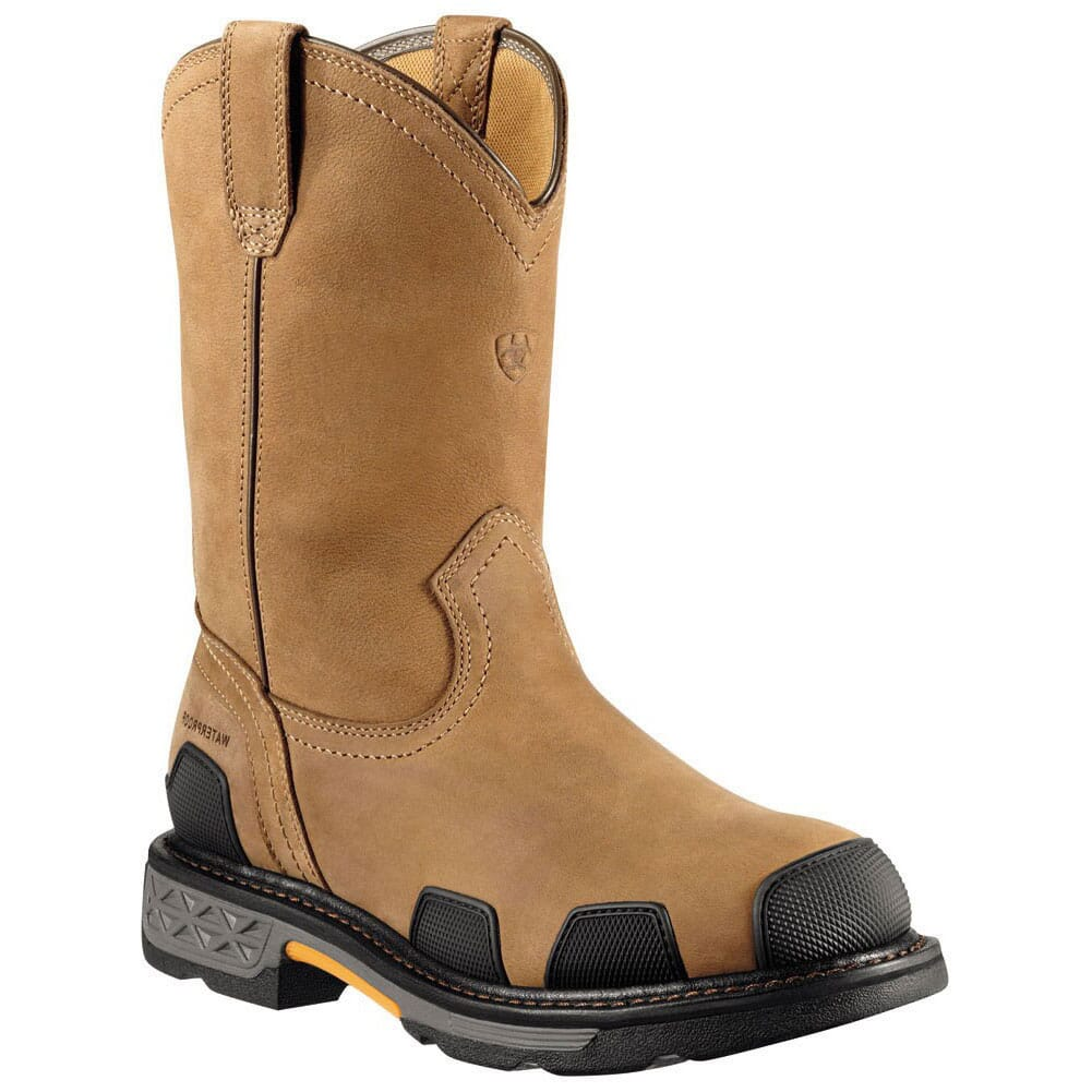 Image for Ariat Men's Overdrive WP Safety Boots - Dusted Brown from bootbay