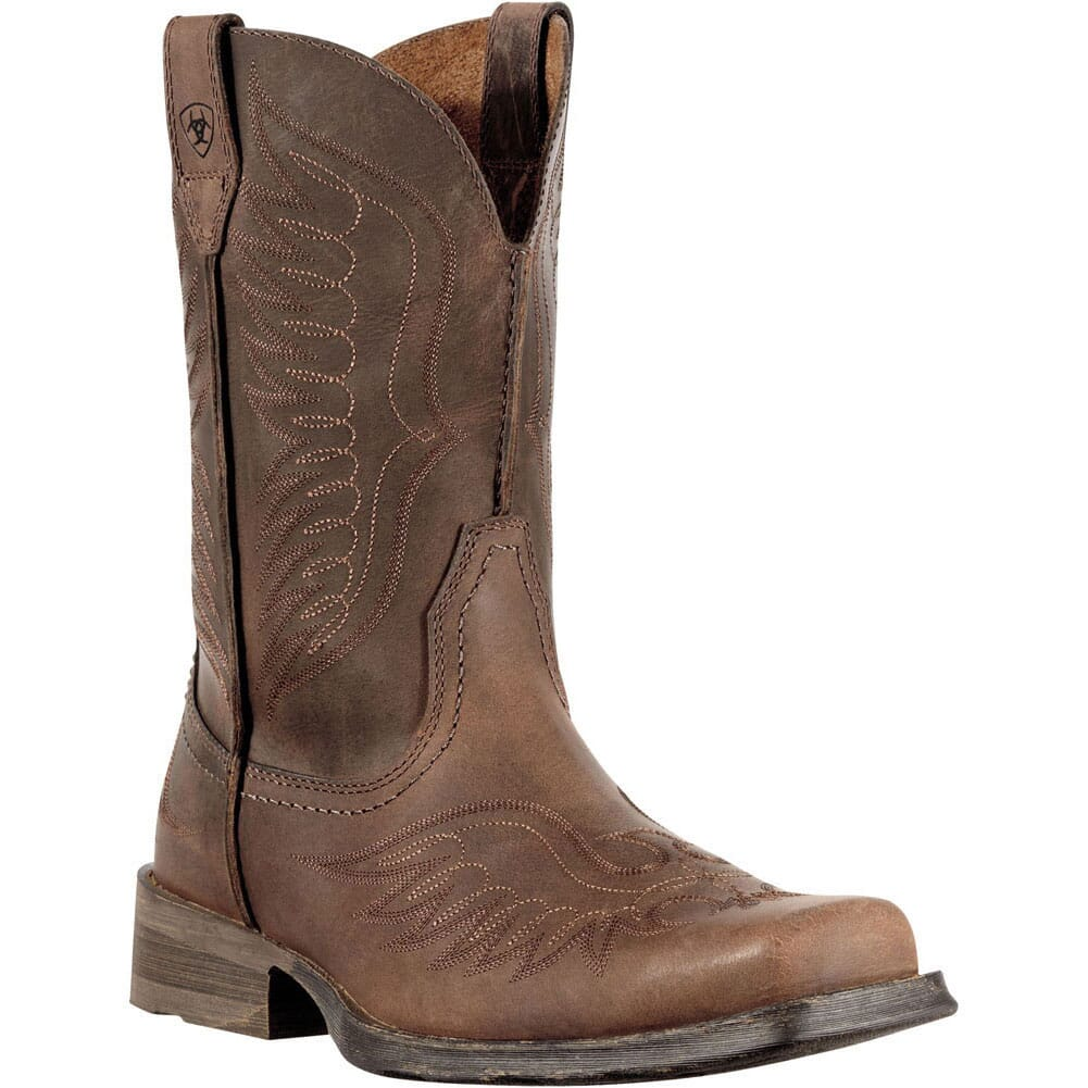 Image for Ariat Men's Rambler Phoenix Western Boots - Brown from bootbay