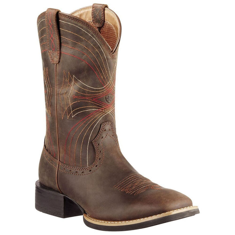 Image for Ariat Men's Sport Western Boots - Distressed Brown from bootbay