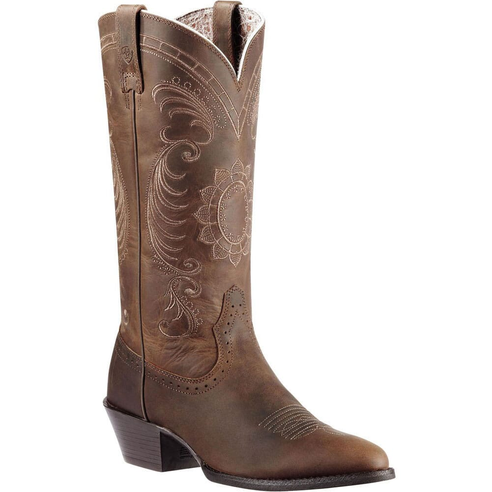 Image for Ariat Women's Magnolia Western Boots - Distressed Brown from elliottsboots