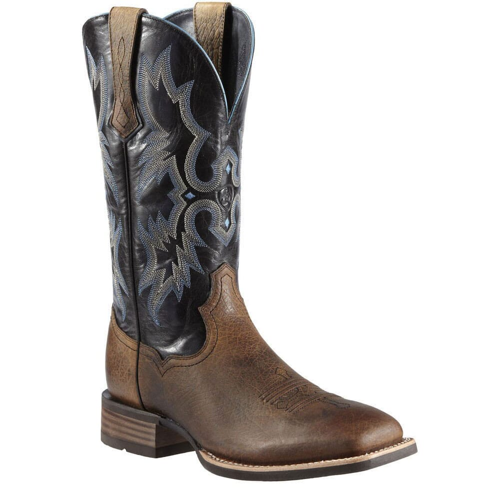 Image for Men's Tombstone 12IN Western Ariat Boots - Earth/Black from bootbay