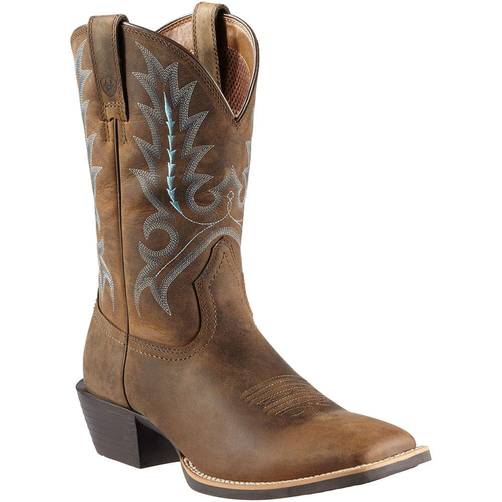 Image for Ariat Men's ST Outfitter Western Boots - Brown from bootbay