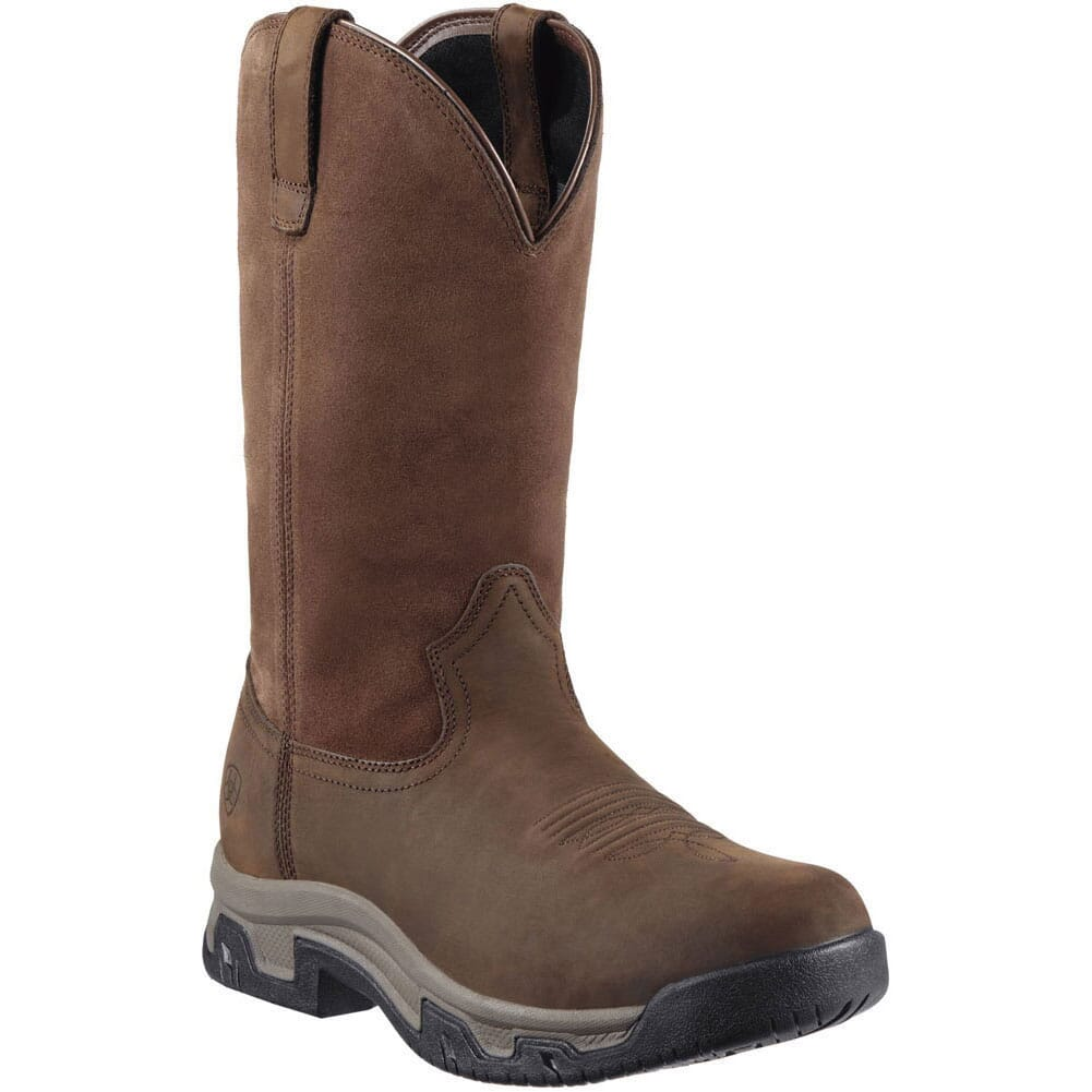 Image for Ariat Men's Terrain H20 Work Boots - Distressed Brown from bootbay