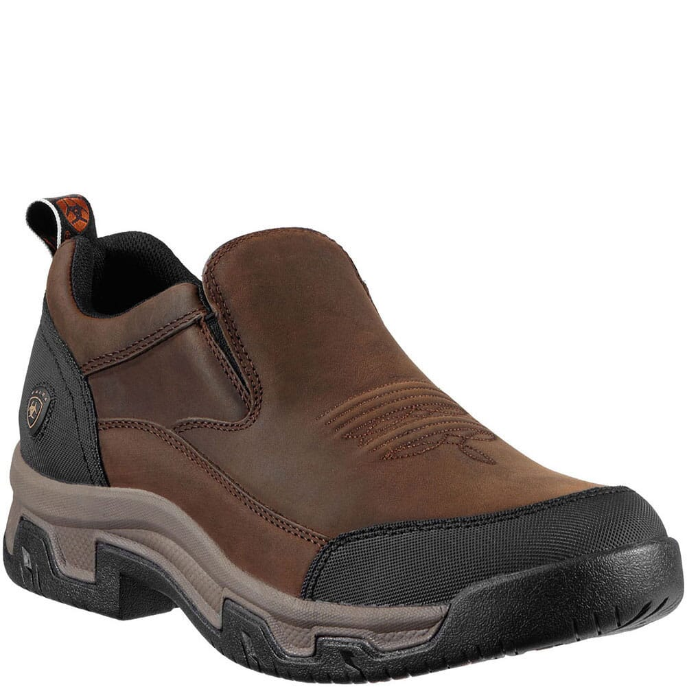 Image for Ariat Men's Rockwood Casual Shoes - Distressed Brown from bootbay