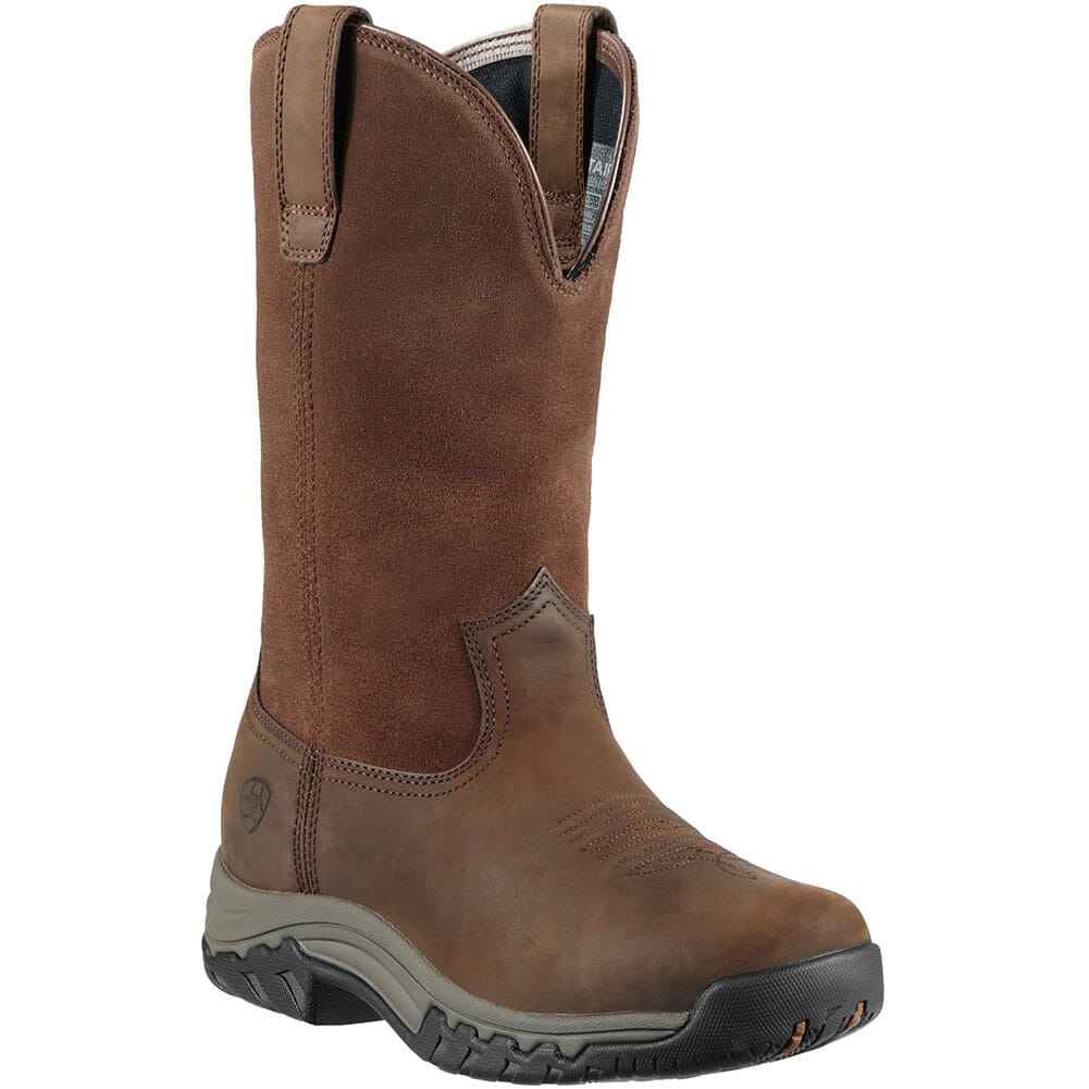 Image for Ariat Women's Terrain H20 Work Boots - Brown from elliottsboots