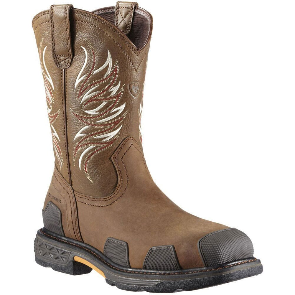 Image for Ariat Men's Overdrive Safety Boots - Alamo Brown from bootbay