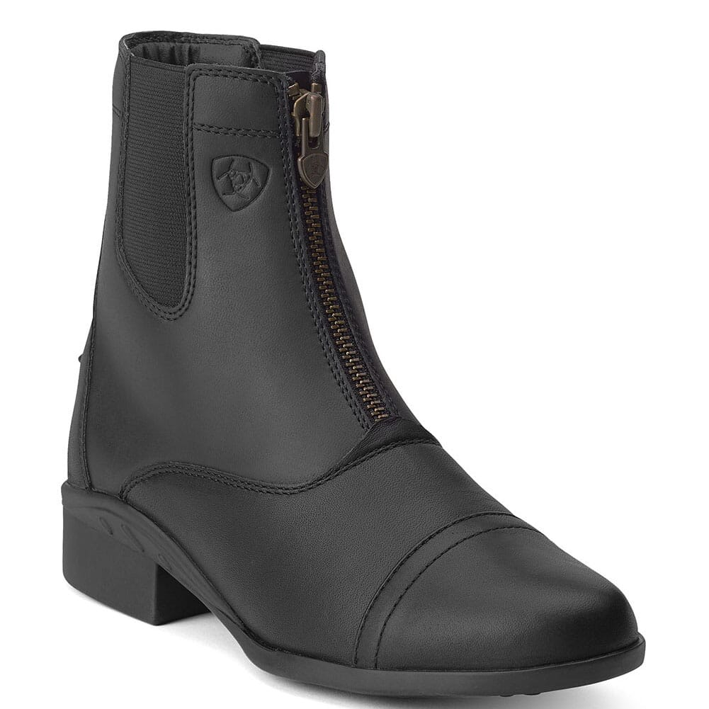 Image for Ariat Women's Scout Zip Equestrian Boots - Black from elliottsboots