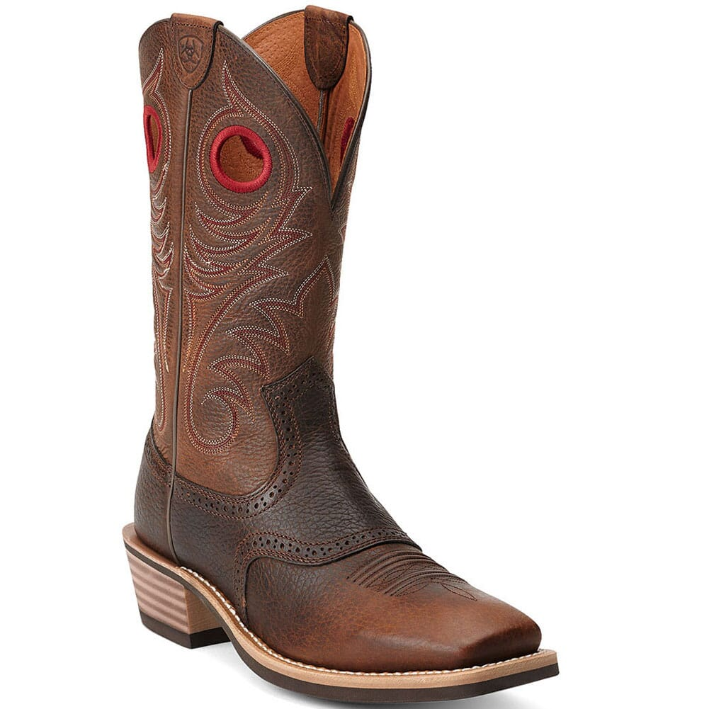 Image for Ariat Men's Heritage Roughstock Western Boots - Brown from bootbay
