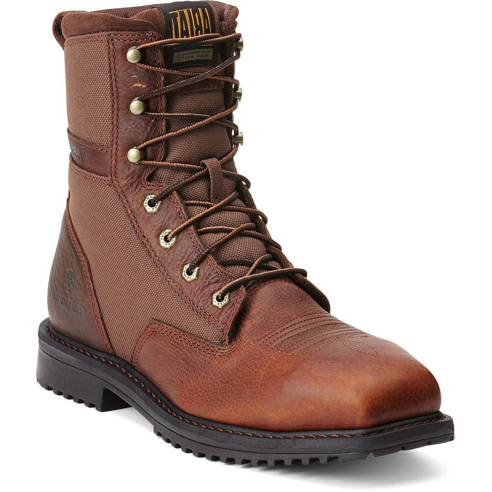 Image for Ariat Men's Rigtek CT Safety Boots - Brown from bootbay