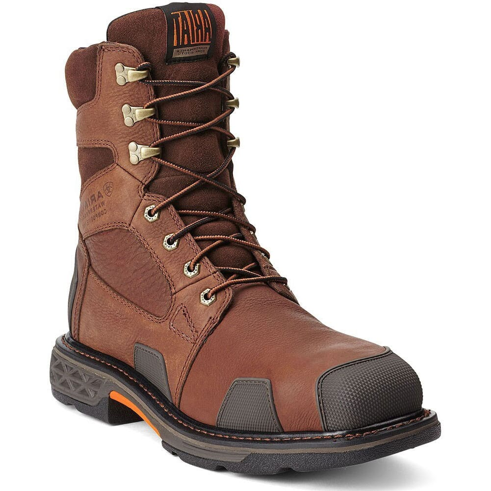 Image for Ariat Men's Overdrive SQ Safety Boots - Brown from bootbay