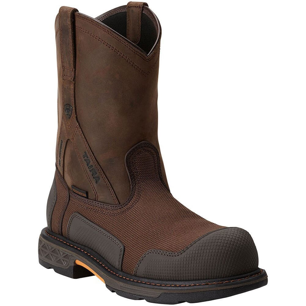 Image for Ariat Men's Overdrive XTR Safety Boots - Brown from bootbay