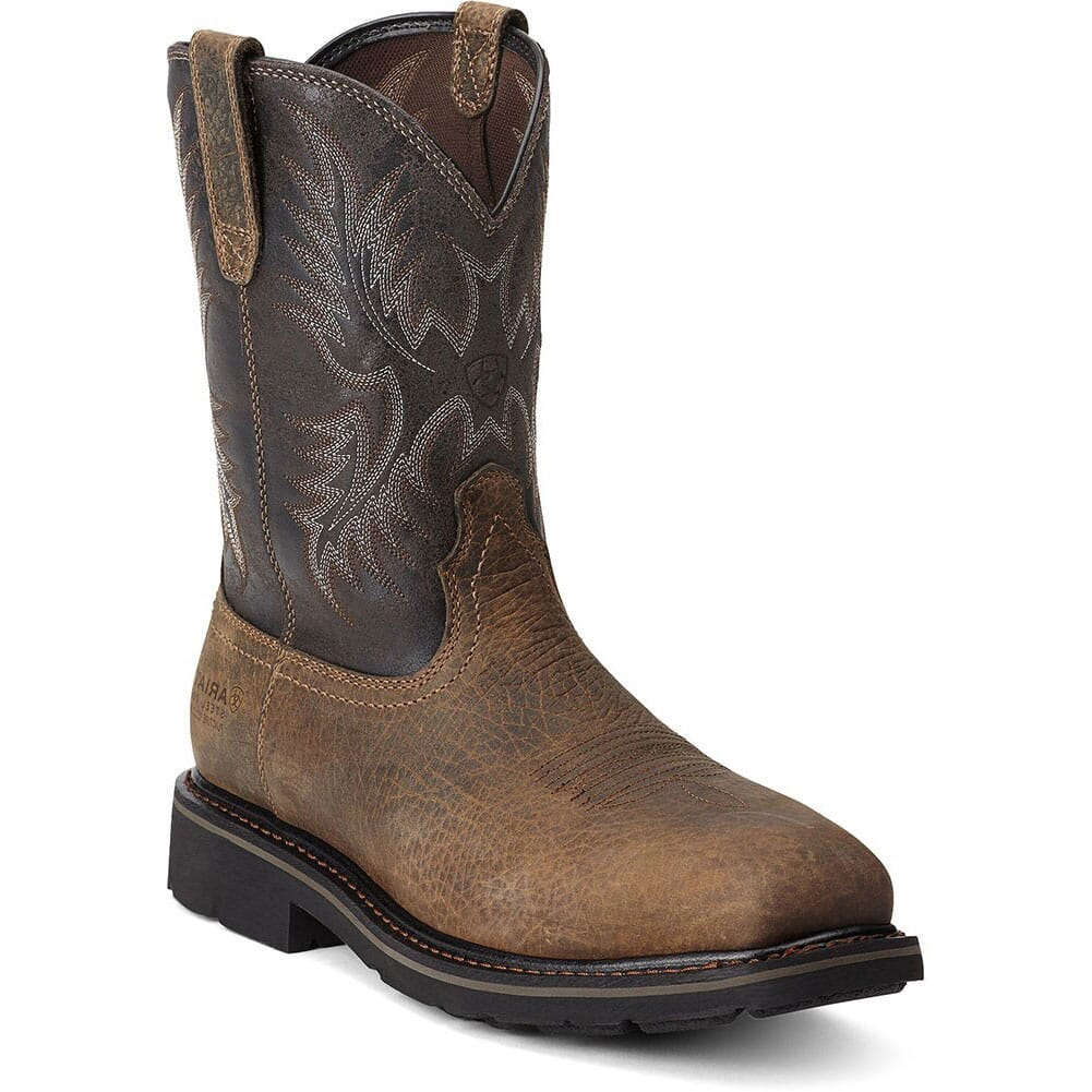Image for Ariat Men's Sierra PR Safety Boots - Earth/Black from bootbay